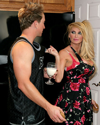 Taylor Wane was craving some young cock so she baked some cookies to lure the neighbor boy over.