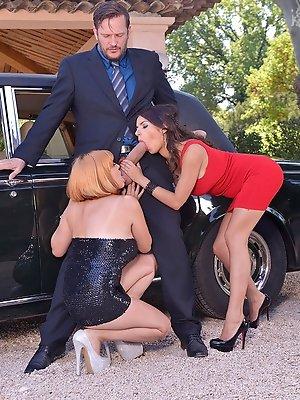 Pussy Fucking Extravaganza - Girls Go Wild On Big Dick